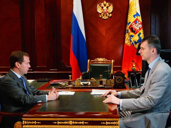 Дмитрий Медведев обнаружил сходство взглядов с олигархом Михаилом Прохоровым.