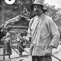 Тяжел крестьянский труд.