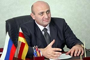 Заместитель мэра Цхинвала Алан Котаев.