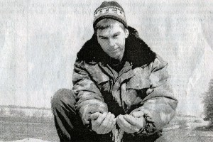Механизатор Александр Сергеевич Медведев.