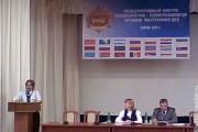 Международный форум специалистов-полиграфологов органов внутренних дел, 11 октября 2011 года, Сочи. Выступление С. В. Поповичева (Эпос).