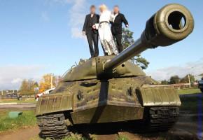 Фото на танке.