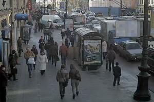 Вебкамера в Питере, Невский проспект, д. 47.