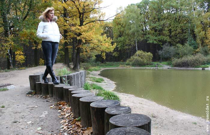 В парке «Лосиный остров». 2011 год.