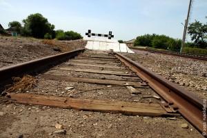 Железнодорожный тупик.