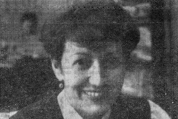 Галина Круподёрова. Фото П. Щербакова, 1986 год.