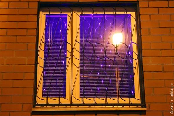 Новогоднее окно.