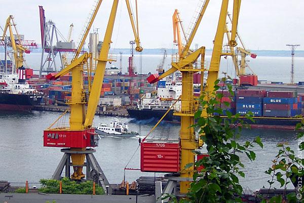 Одесский порт.