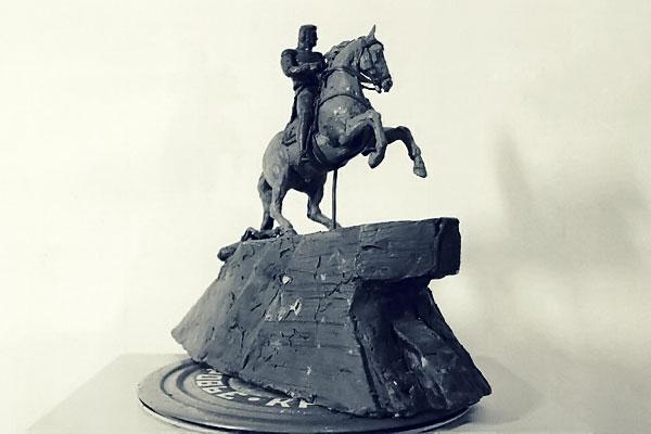 Проект памятника А. П. Ермолову в Орле.
