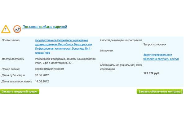 В Рунете заработала система по выявлению «скрытых» тендеров «Интересные торги».
