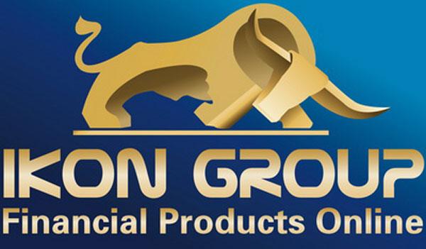 Логотип компании IKON Group.