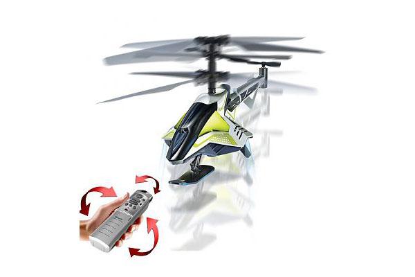 3-х канальный вертолет Эм.Ай.Ховер с инновационной системой взлета и управления.